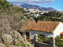 Casares w Andalucia Fotografia Stock