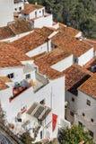 Casares w Andalucia Hiszpania Obrazy Royalty Free