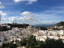 Casares w Andalusia Zdjęcia Stock
