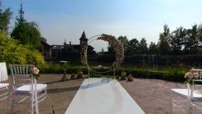 Casarse ceremonia al aire libre