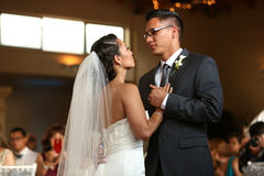 Casarse danza Fotografía de archivo libre de regalías