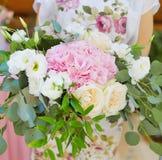 Casarse decoraciones florales Fotografía de archivo libre de regalías
