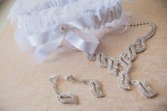 Casarse el adorno hermoso Fotos de archivo libres de regalías