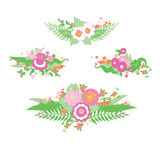 Casarse el ramo colorido de la flor Imagen de archivo libre de regalías