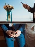 Casarse el sistema para el novio Imagen de archivo