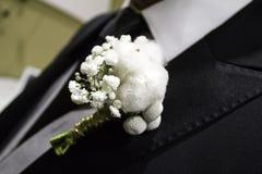 Casarse el traje del novio Fotografía de archivo libre de regalías