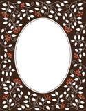 Casarse la plantilla floral de la invitación Stock de ilustración