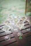 Casarse las bebidas para las huéspedes Foto de archivo