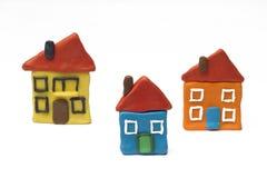 Casas imagens de stock