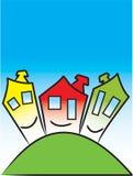 Casas Imagem de Stock Royalty Free