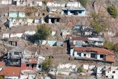 Casas abandonadas Imagenes de archivo
