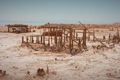 Casas abandonadas Fotografía de archivo