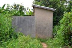 Casas abandonadas Foto de archivo libre de regalías