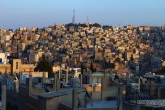 Casas aglomeradas Imagem de Stock