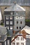 Casas alemanas antiguas Fotografía de archivo
