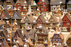 Casas Alsatian Imagem de Stock Royalty Free