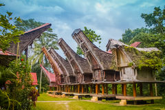 Casas ancestrais tradicionais Fotos de Stock Royalty Free