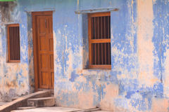 Casas antigas na vila Imagens de Stock