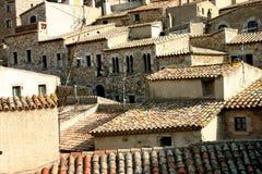 Casas apretadas Imagenes de archivo