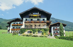 Casas austríacas fotos de stock