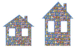 Casas australianas del dinero Imagen de archivo libre de regalías