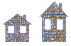 Casas australianas do dinheiro Imagem de Stock Royalty Free