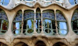 Casas Baio en Barcelona Fotos de archivo libres de regalías