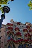 Casas Batlló em Barcelona imagem de stock royalty free