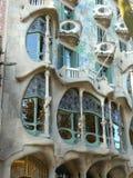 Casas Batlló en Barcelona Fotos de archivo