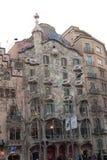 Casas Batlló en Barcelona Imagen de archivo libre de regalías
