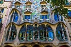 Casas Batllo Foto de Stock Royalty Free