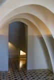 Casas Batllo - arcos del ático Foto de archivo