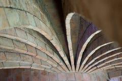 Casas Batllo - arcos do sótão Imagens de Stock Royalty Free