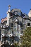 Casas Batllo, Barcelona Fotografía de archivo libre de regalías