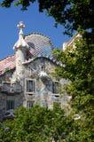 Casas Batllo - Barcelona Imagen de archivo