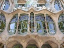 Casas Batllo Barcelona Foto de archivo