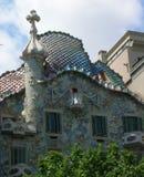 Casas Batllo Barcelona Fotografía de archivo libre de regalías