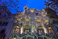 Casas Batllo, Barcelona, España Fotos de archivo