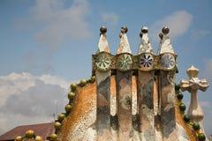 Casas Batllo en Barcelona imagen de archivo