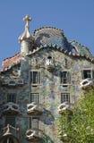Casas Batllo en Barcelona, España Fotografía de archivo libre de regalías