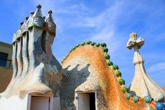 Casas Batllo, Gaudi Fotografía de archivo