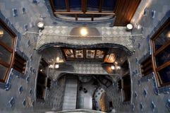 Barcelona - casa Batllo Fotografía de archivo