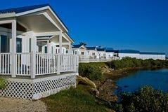 Casas beira-mar Imagem de Stock Royalty Free