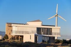 Casas bioclimáticas en el sur de la isla de Tenerife el 3 de enero de 2016 Imágenes de archivo libres de regalías