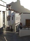 Casas brancas a Tejeda Fotos de Stock Royalty Free
