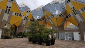 """Casas cúbicas de Rotterdam, arquitetura original e projeto, †holandês """"julho de 2017 imagens de stock"""