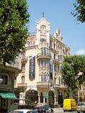 Casas Casasayas en Palma de Majorca Fotografía de archivo libre de regalías