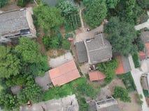 Casas chinas de la aldea foto de archivo libre de regalías
