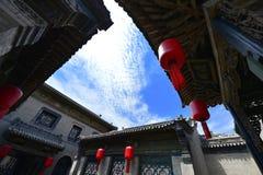 Casas chinesas antigas Imagem de Stock