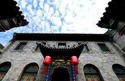 Casas chinesas antigas Fotografia de Stock